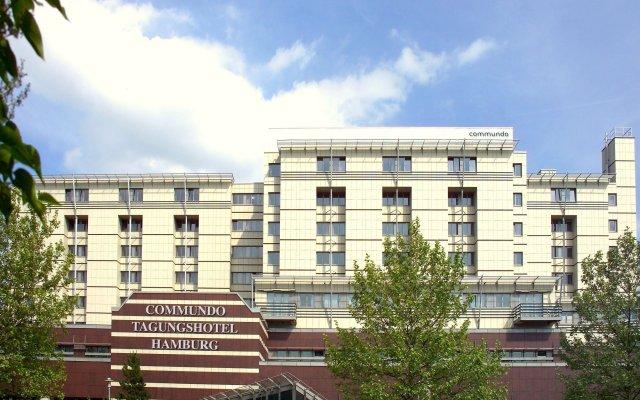 Отель Commundo Tagungshotel Hamburg Германия, Гамбург - отзывы, цены и фото номеров - забронировать отель Commundo Tagungshotel Hamburg онлайн вид на фасад