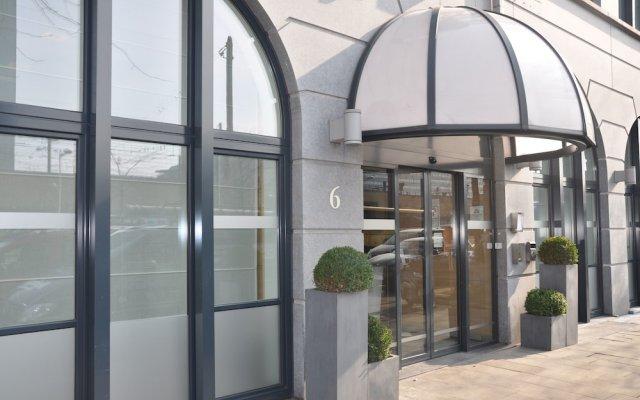 Отель Novotel Brussels Centre Midi Station Бельгия, Брюссель - 3 отзыва об отеле, цены и фото номеров - забронировать отель Novotel Brussels Centre Midi Station онлайн вид на фасад
