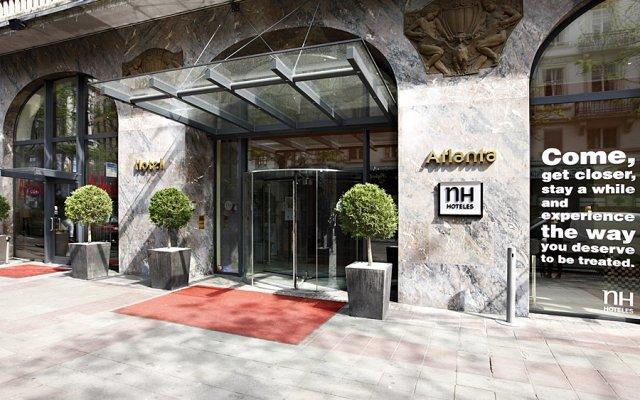 Отель NH Collection Brussels Centre Бельгия, Брюссель - 5 отзывов об отеле, цены и фото номеров - забронировать отель NH Collection Brussels Centre онлайн вид на фасад