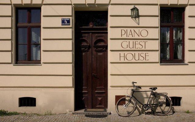 Отель Piano Guest House Краков вид на фасад