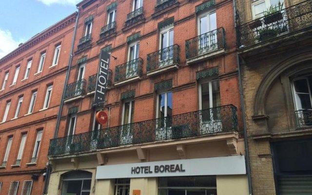 Отель Boreal Франция, Тулуза - отзывы, цены и фото номеров - забронировать отель Boreal онлайн вид на фасад