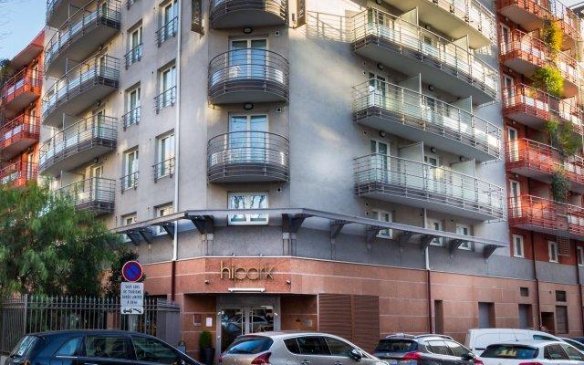 Отель Hipark by Adagio Nice вид на фасад