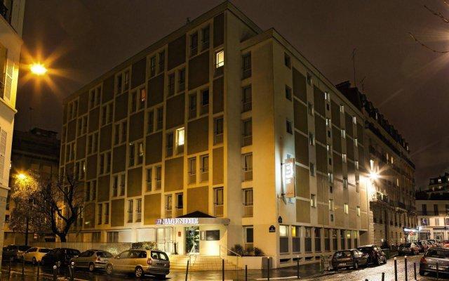 Отель Belambra City - Magendie Франция, Париж - 8 отзывов об отеле, цены и фото номеров - забронировать отель Belambra City - Magendie онлайн вид на фасад