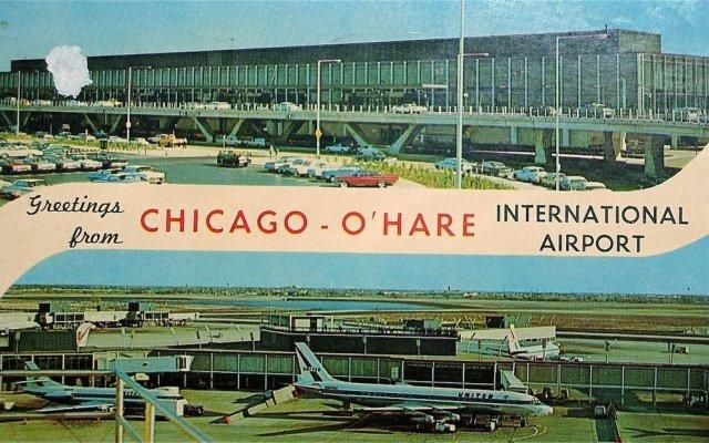 Отель Chicago Club Inn & Suites вид на фасад