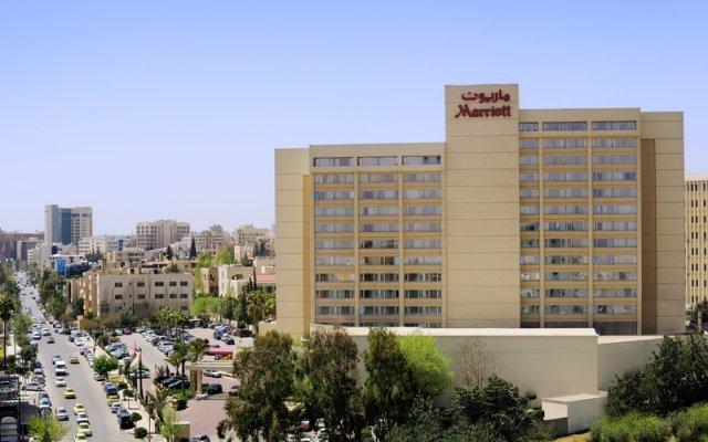 Отель Amman Marriott Hotel Иордания, Амман - отзывы, цены и фото номеров - забронировать отель Amman Marriott Hotel онлайн вид на фасад