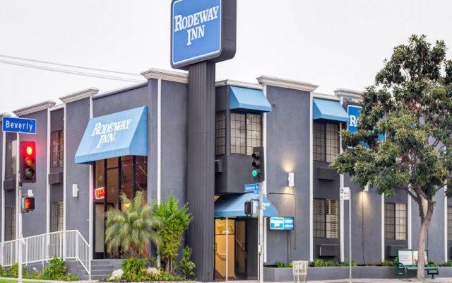 Отель Rodeway Inn Los Angeles вид на фасад