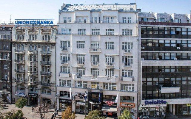 Отель Zepter вид на фасад