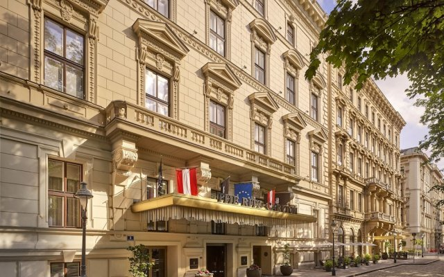 Отель The Ritz Carlton Vienna Вена вид на фасад