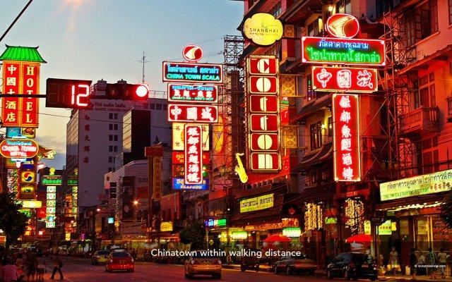 Отель ZEN Rooms Chinatown Bangkok вид на фасад