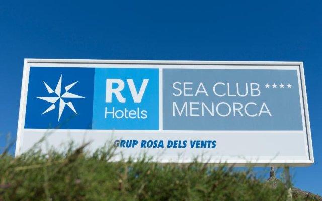 Отель Menorca Sea Club Испания, Кала-эн-Бланес - отзывы, цены и фото номеров - забронировать отель Menorca Sea Club онлайн вид на фасад