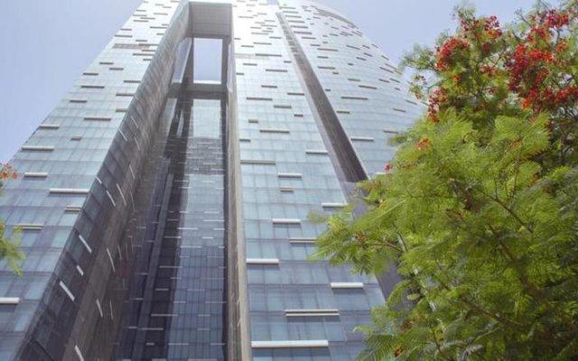 Отель Sheraton Grand Hotel, Dubai ОАЭ, Дубай - 1 отзыв об отеле, цены и фото номеров - забронировать отель Sheraton Grand Hotel, Dubai онлайн вид на фасад