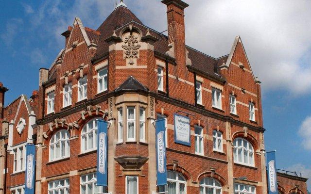 Отель W12 Rooms вид на фасад