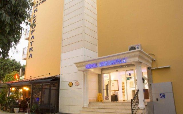 Kleopatra Ada Beach Hotel - All Inclusive Аланья вид на фасад