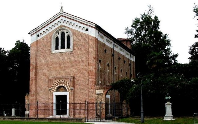 Отель Giotto Eremitani Италия, Падуя - отзывы, цены и фото номеров - забронировать отель Giotto Eremitani онлайн вид на фасад