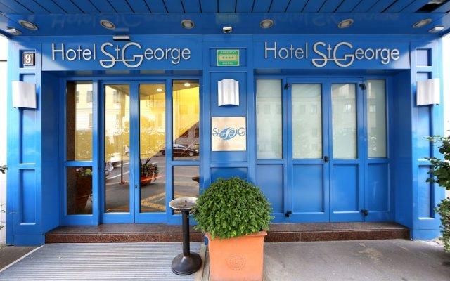 Отель Just Hotel St. George Италия, Милан - 11 отзывов об отеле, цены и фото номеров - забронировать отель Just Hotel St. George онлайн вид на фасад