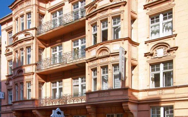 Hotel Taurus Прага вид на фасад
