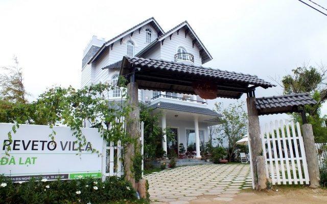 Отель Reveto Dalat Villa Далат вид на фасад