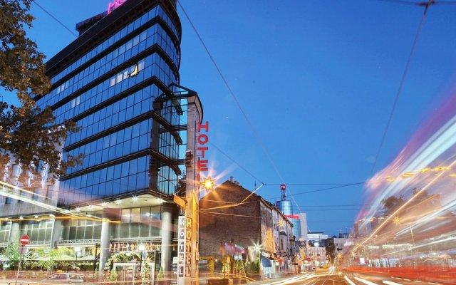 Отель Design Hotel Mr. President Сербия, Белград - отзывы, цены и фото номеров - забронировать отель Design Hotel Mr. President онлайн вид на фасад