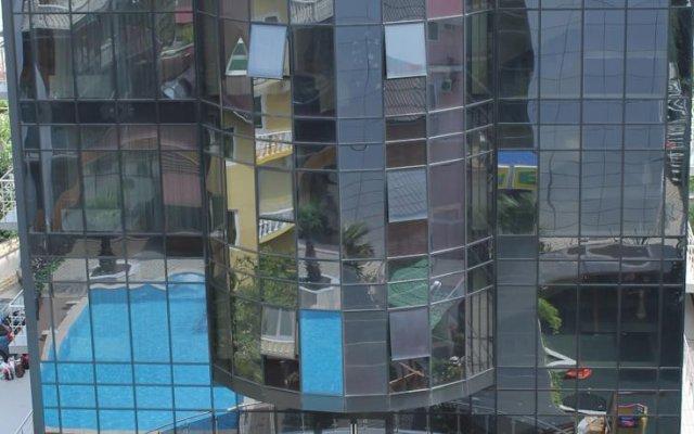 Гостиница Экодом вид на фасад