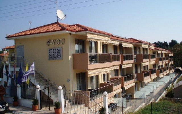 4 you Hotel вид на фасад