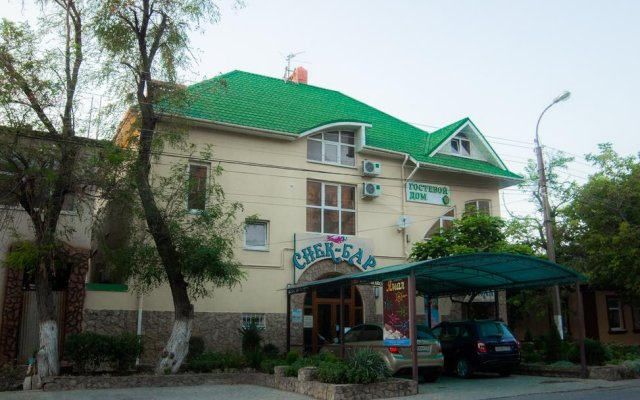 Гостиница Ямал в Анапе отзывы, цены и фото номеров - забронировать гостиницу Ямал онлайн Анапа вид на фасад