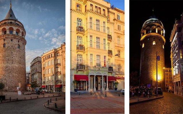 Anemon Hotel Galata - Special Class Турция, Стамбул - отзывы, цены и фото номеров - забронировать отель Anemon Hotel Galata - Special Class онлайн вид на фасад