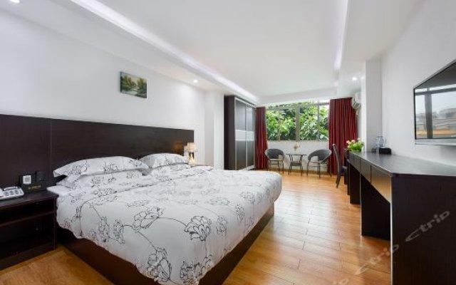Отель S&P Holiday Inn (Guangzhou Baiyun Airport No.1) комната для гостей