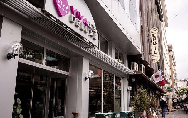 Viva Deluxe Hotel вид на фасад