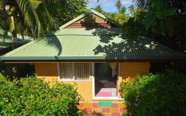 Отель Гостевой дом Pension Fare Maheata Французская Полинезия, Муреа - отзывы, цены и фото номеров - забронировать отель Гостевой дом Pension Fare Maheata онлайн вид на фасад