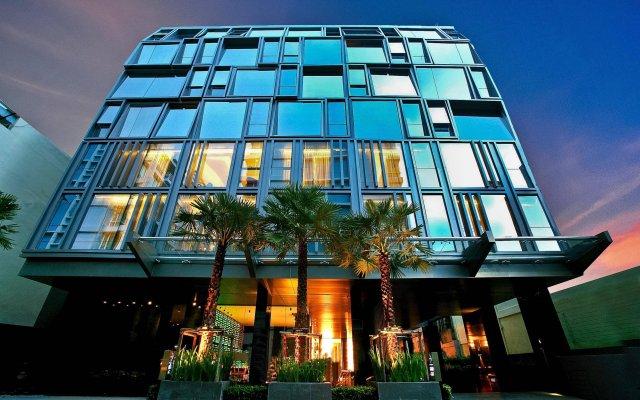 Отель Galleria 10 Sukhumvit Bangkok by Compass Hospitality вид на фасад