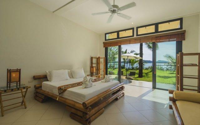 Отель Luxury Beach Front Noble House Villa комната для гостей