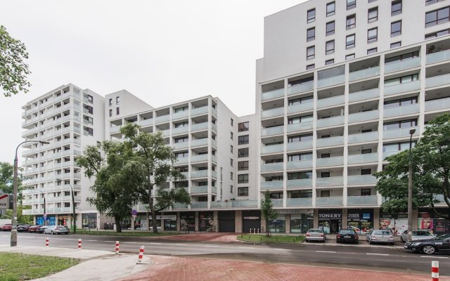 Апартаменты P&O Apartments Ordona вид на фасад