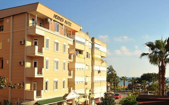 Kleopatra Hermes Hotel Турция, Аланья - отзывы, цены и фото номеров - забронировать отель Kleopatra Hermes Hotel онлайн вид на фасад