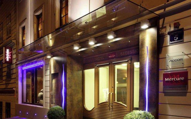 Отель Mercure Secession Wien вид на фасад