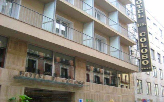 Отель Eurostars Madrid Gran Via (ex Exe Coloso) Испания, Мадрид - отзывы, цены и фото номеров - забронировать отель Eurostars Madrid Gran Via (ex Exe Coloso) онлайн вид на фасад
