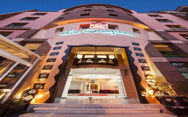 Hotel Le Caspien вид на фасад