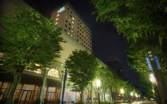 Отель Oarks canal park hotel Toyama Япония, Тояма - отзывы, цены и фото номеров - забронировать отель Oarks canal park hotel Toyama онлайн вид на фасад