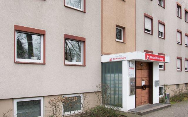 Отель A1 Hostel Nürnberg Германия, Нюрнберг - 1 отзыв об отеле, цены и фото номеров - забронировать отель A1 Hostel Nürnberg онлайн вид на фасад