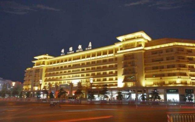 Отель Bell Tower Hotel Xian Китай, Сиань - отзывы, цены и фото номеров - забронировать отель Bell Tower Hotel Xian онлайн вид на фасад