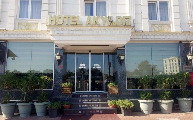 Hotel Akyildiz вид на фасад