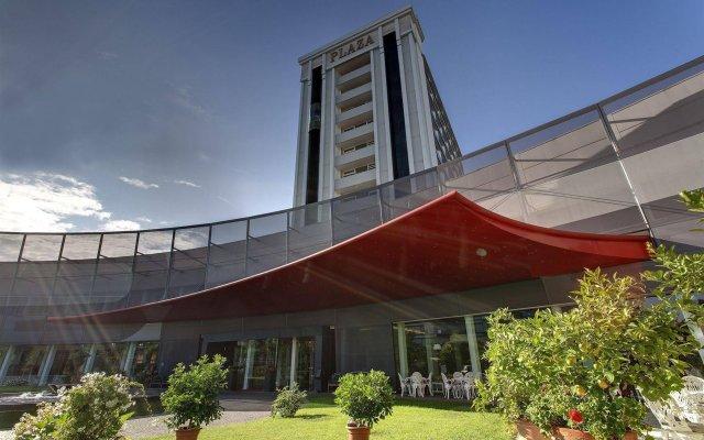 Отель Panoramic Hotel Plaza Италия, Абано-Терме - 6 отзывов об отеле, цены и фото номеров - забронировать отель Panoramic Hotel Plaza онлайн вид на фасад