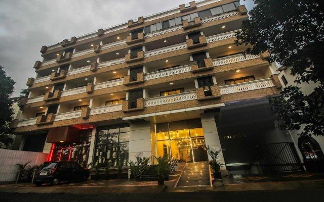 Отель Treebo Tryst Dona Paula Гоа вид на фасад