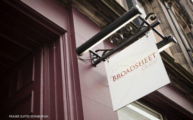Отель Fraser Suites Edinburgh Великобритания, Эдинбург - отзывы, цены и фото номеров - забронировать отель Fraser Suites Edinburgh онлайн вид на фасад