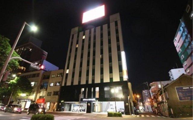 Отель New Gaea Kamigofuku Фукуока вид на фасад