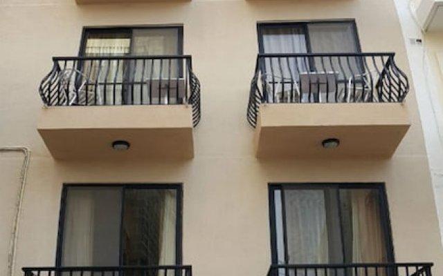 Апартаменты Seashells Studio Seaview terrace вид на фасад