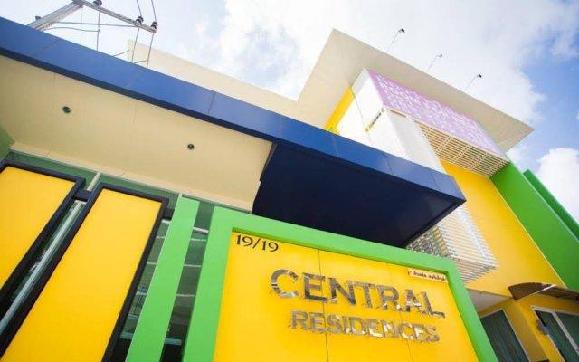 Отель Central Residences вид на фасад