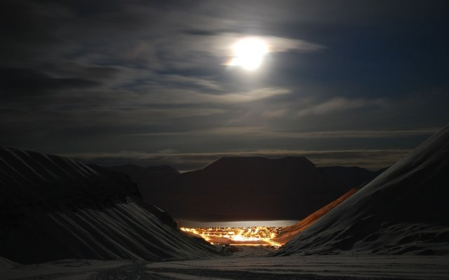 Basecamp Spitsbergen Hotel in Longyearbyen, Svalbard from 266$, photos, reviews - zenhotels.com hotel front