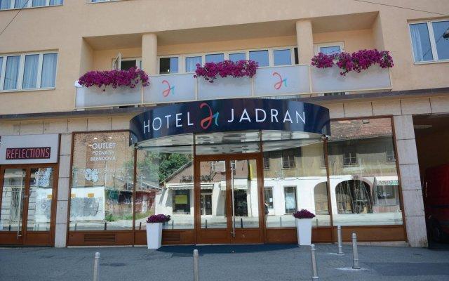 Hotel Jadran вид на фасад