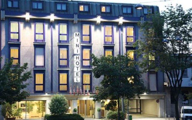 Hotel Portello вид на фасад