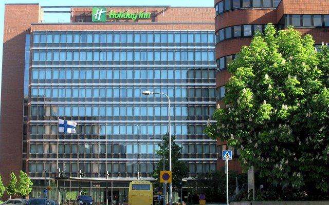 Отель Holiday Inn Helsinki West- Ruoholahti вид на фасад